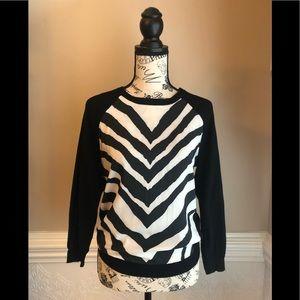 Express Zebra Print Top